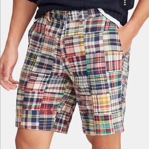 Old Navy Plaid Patchwork Shorts 36